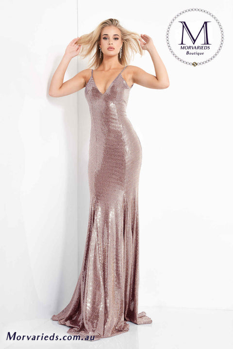 Light Pink Prom Dress | Fitted Backless Prom Dress Jovani 1087 - Morvarieds Boutique