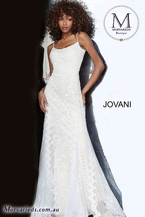 Fitted Dress  | Lace Prom Dress Jovani 00862 - Morvarieds Boutique