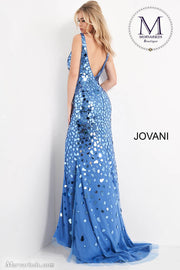 Sexy Prom Dress | V Neck Embellished Jovani Prom Dress 02479 - Morvarieds Boutique
