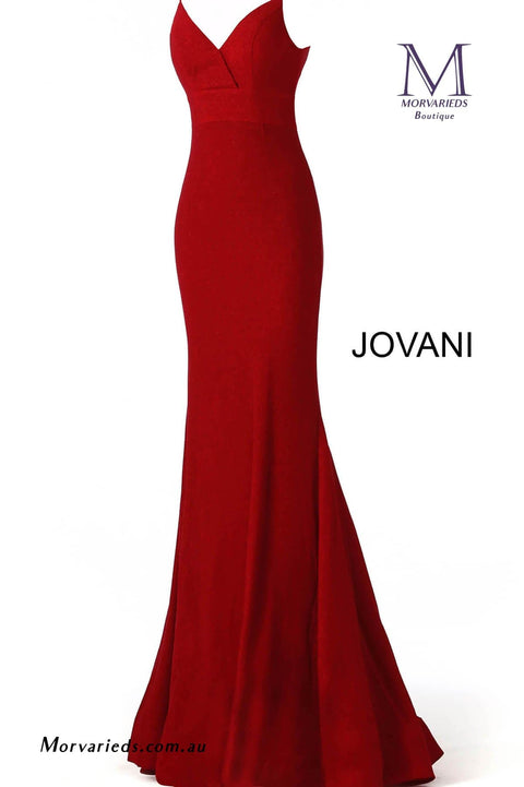 Navy Fitted Bridesmaid Dress Jovani 66442 - Morvarieds Boutique