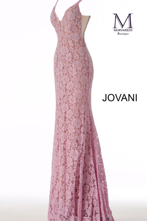 Lace Prom Dress | Perri Lace Fitted Jovani Prom Dress 48994 - Morvarieds Boutique