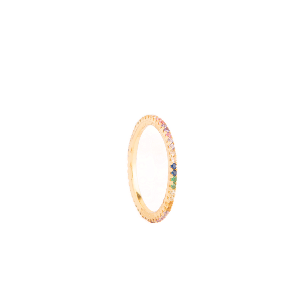 Anillo Rainbow Gold