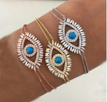 Pulsera Evil Eye Rose Gold