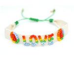 Pulsera Rainbow Love