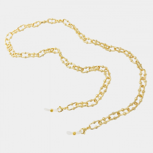 3 in 1 golden chain necklace