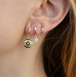 Golden Eye Earring