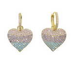 Pastel Hearted Earrings