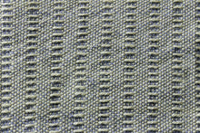 Load image into Gallery viewer, Grey weft float large wool scarf, handwoven wrap, Peruvian Highland wool, green on grey, Hampshire Hill