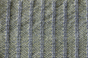 Grey weft float large wool scarf, handwoven wrap, Peruvian Highland wool, green on grey, Hampshire Hill