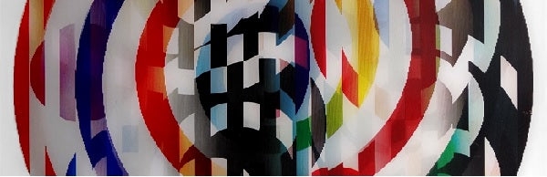 The Agamograph as an expression of time to master Yaacov Agam