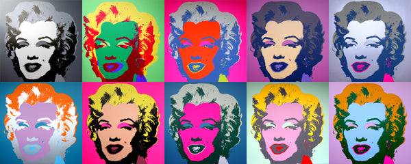 About Andy Warhol's Marilyn Monroe series