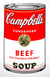 Campbell's Soup Can - Beef