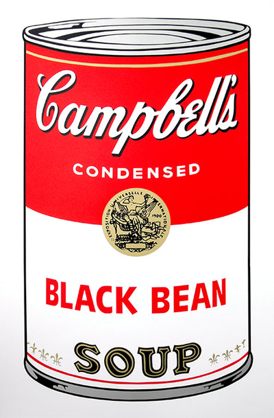 Campbell's Soup Can - Black Bean