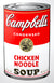 Campbell's Soup Can - Chicken Noodle