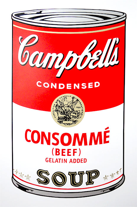 Campbell's Soup Can - Consommé