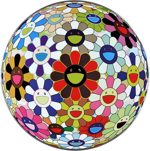 Flower Ball: Lots of Colors