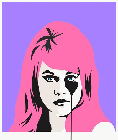 Jane Fonda's Nightmare - Bubblegum pink