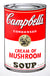 Campbell's Soup Can - Cream of Mushroom
