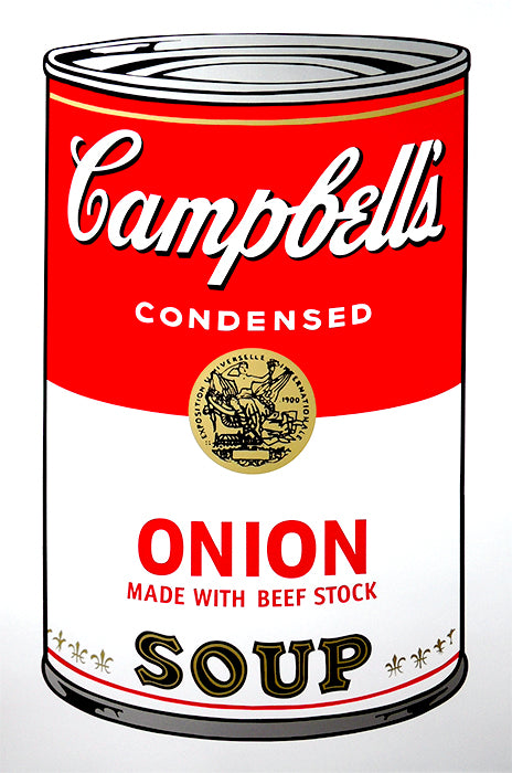 Campbell's Soup Can - Onion