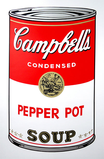 Campbell's Soup Can - Pepper Pot