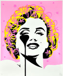 I dream of Marilyn - Pink Splash