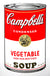 Campbell's Soup Can - Vegetable