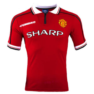 new arrival 6bd16 43ab0 Classic Retro 1998-99 Manchester United Shirt