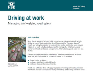 Health & Safety Executive - Driving at Work FREE Download