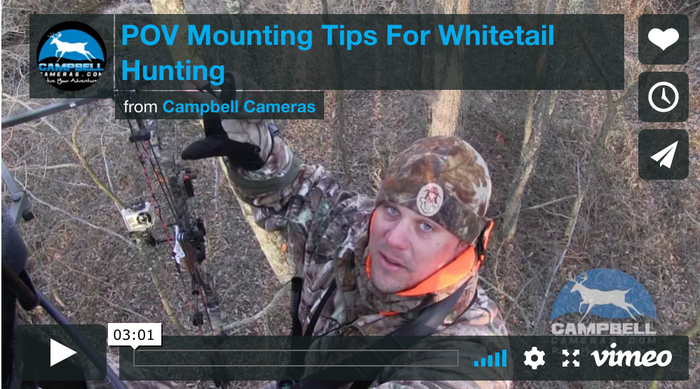 POV Mounting Tips For Whitetail Hunting