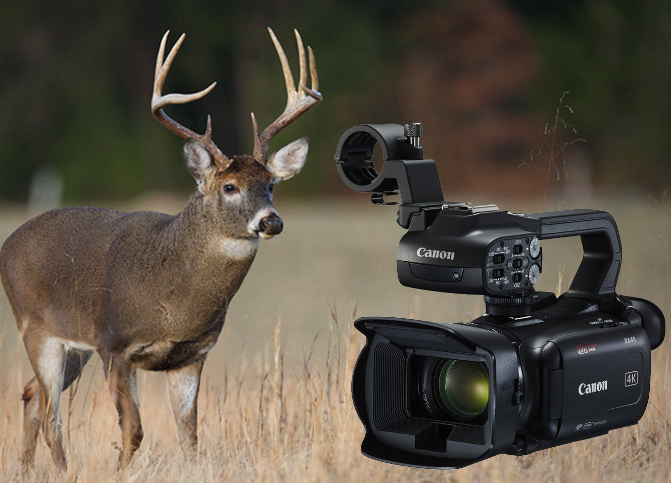 Canon XA40 Hunting Video Camera