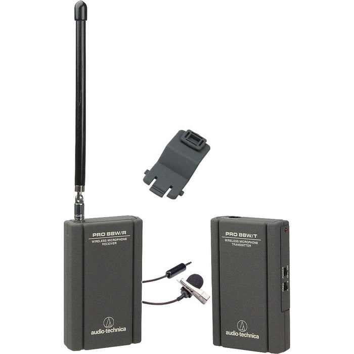 Audio Technica Pro 88w wireless microphone for hunting