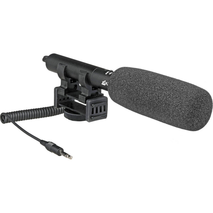 Azden SMX-10 shotgun microphone audio for hunting camera