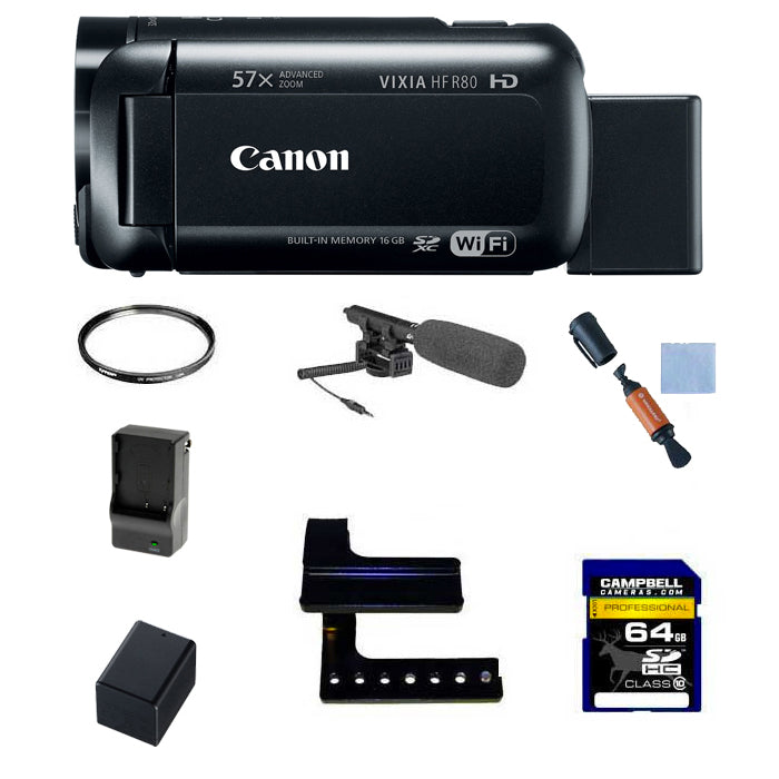 Canon VIXIA HFR80 Outdoor Filming Package