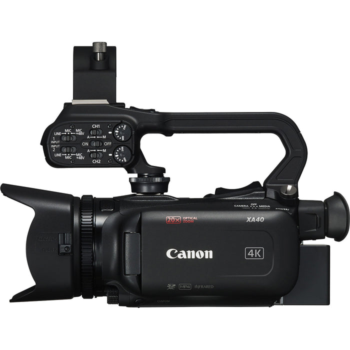 Canon XA40 4K Video Camera
