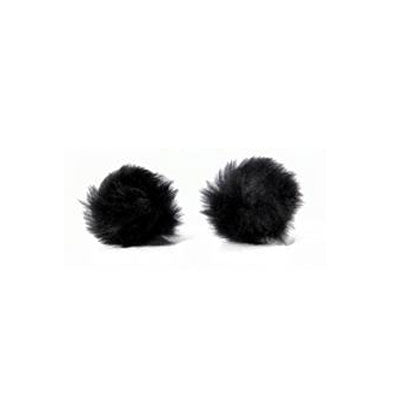 Large Lavalier Wireless Mic Windscreen (2 pack)