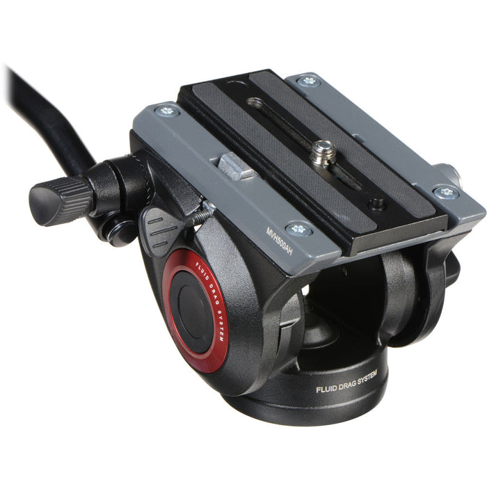 Manfrotto MVH500ah fluid head for hunting