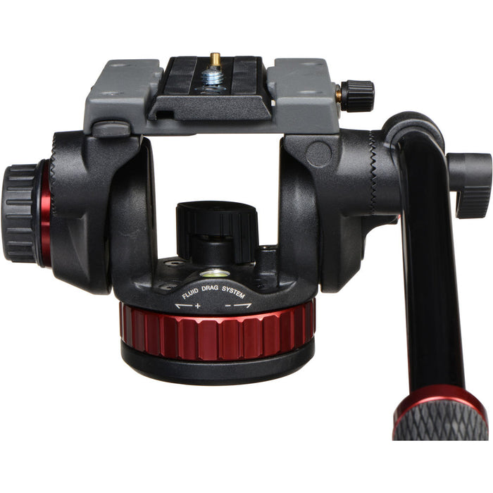 "Manfrotto 502HD Head with Flat Base (3/8""-16 Connection)"