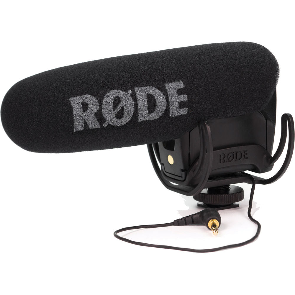 Rode VideoMic Pro with Rycote Lyre Shockmount for hunting
