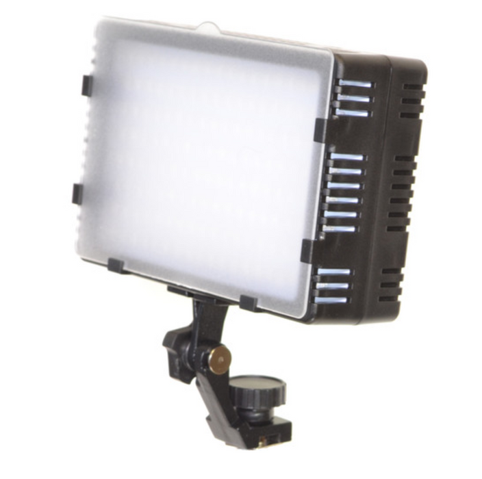 Bescor Morning Star Series LED-125 Dimmable On-Camera Light
