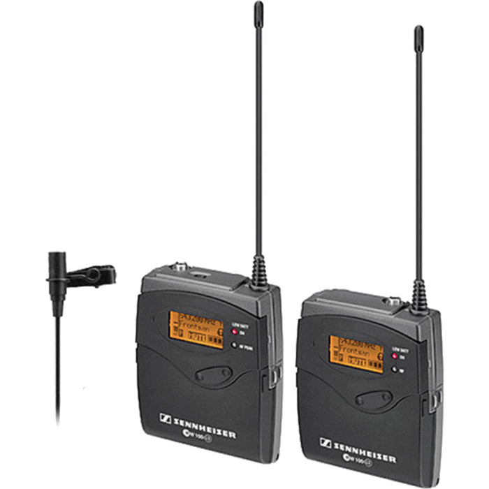 Sennheiser ew 112-p G4 Camera-Mount Wireless Microphone System with ME 2 Lavalier Mic - A (516-558 MHz)