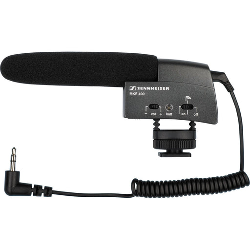 Sennheiser MKE 400 Compact Shotgun Microphone (OUT OF STOCK)