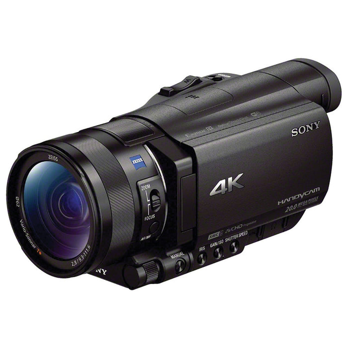 Sony FDR-AX100 4K Ultra HD Camcorder for filming your hunt