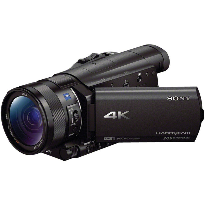 Sony FDR-AX100 4K Package for filming hunts