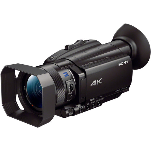 Sony FDR-AX700 4K Camcorder for filming a hunt