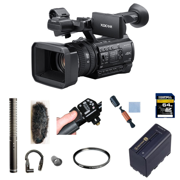 Ultra Wide Angle Conversion Lens High Grade Sony PXW-Z150 HD Low Profile