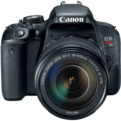 Canon EOS Rebel T7i DSLR Camera with 18-135mm Lens