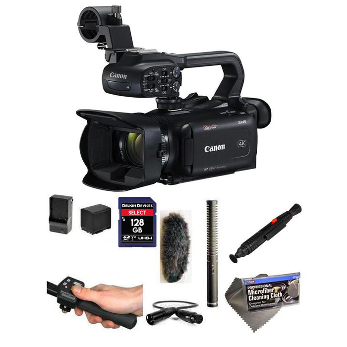 Canon XA40 4K Outdoor Package