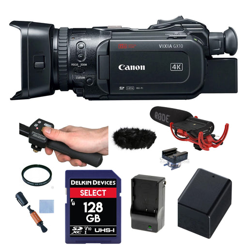 Canon VIXIA GX10 4K Outdoor Package