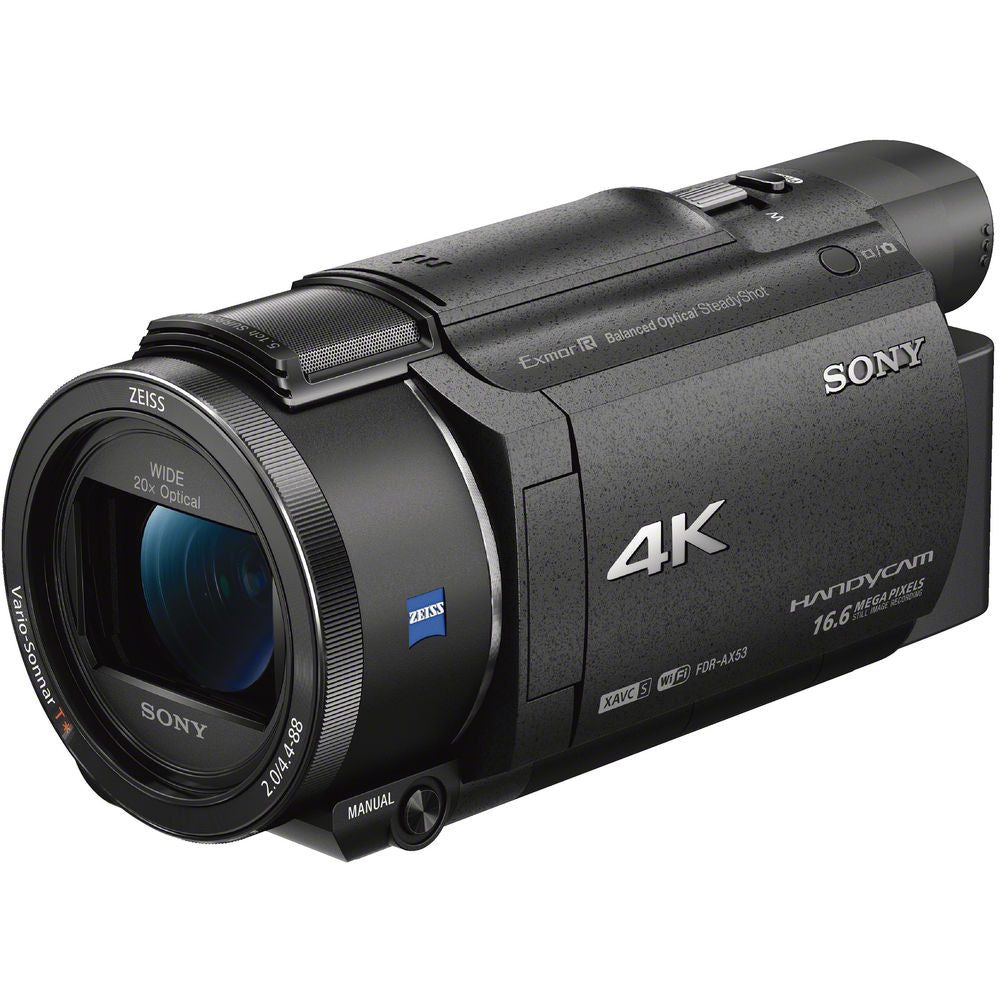 Sony FDR-AX53 4K Ultra HD Handycam Camcorder for hunting