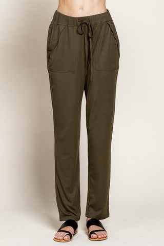 Cupro Tapered Pants